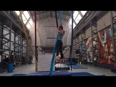 Nicholas Allan Li Silk Routine 2016
