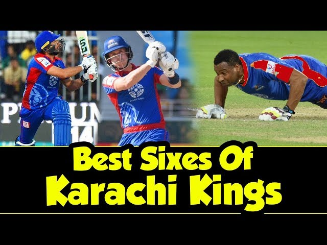 Thrilling Sixes By Karachi Kings | Best Sixes Of PSL |  HBL PSL