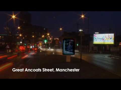 Primesight - Manchester, Great Ancoats Street (Time Lapse)