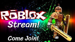 🔴 LIVE! 🔴 VIEWERS CAN REQUEST GAMES TO PLAY! | Roblox Stream | (Fixed Lag!)