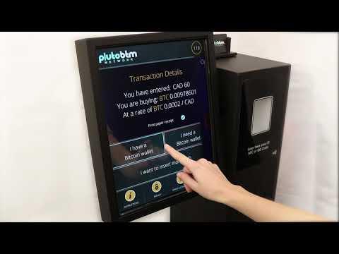 How to Buy Bitcoin at a Pluto Bitcoin ATM