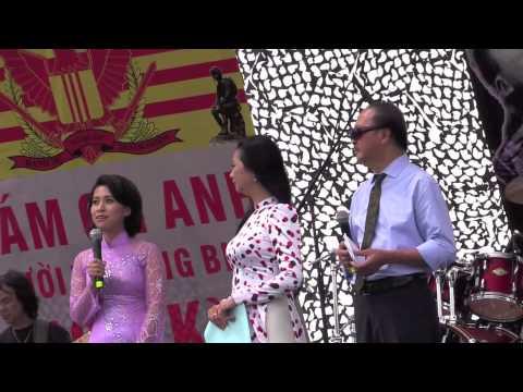 Dai Nhac Hoi Cam On Anh ky 8 Phat Bieu cua duoc si Nguyen Khoa Dieu Thao
