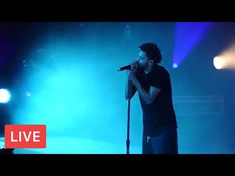 J Cole Do EMOTIONAL Message performing 4 Your Eyez Only On 4 Your Eyez Only Tour