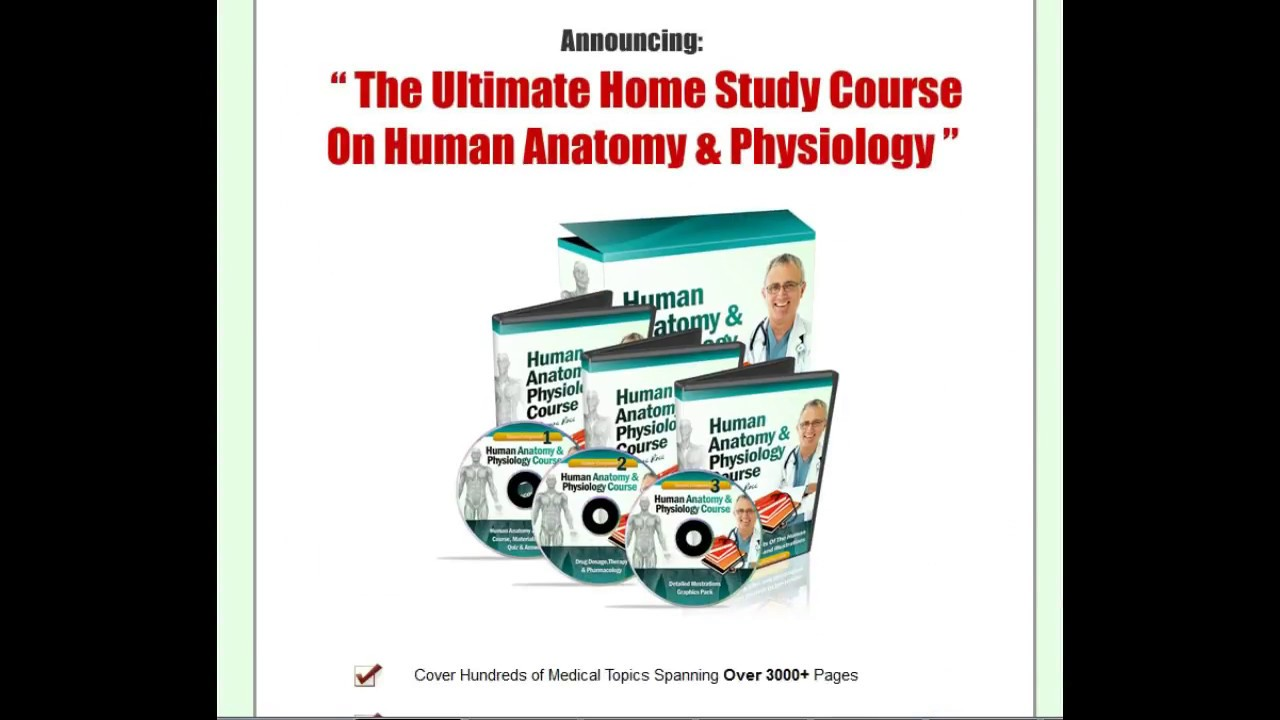 The Best Human Anatomy & Physiology Home Study Course Download - YouTube