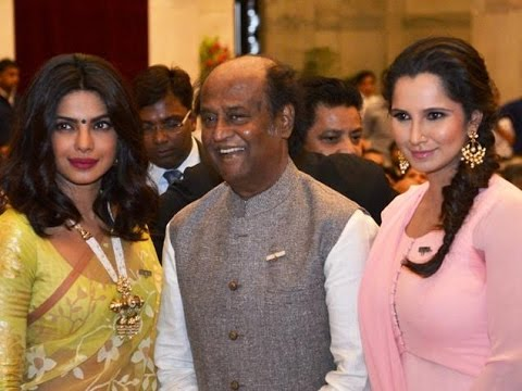 Priyanka Chopra, Rajnikanth And Sania Mirza Honored By Padma Vibhushan Award