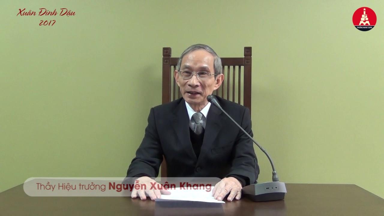 Kết quả hình ảnh cho thầy Nguyễn Xuân Khang – Hiệu trưởng trường Marie Curie