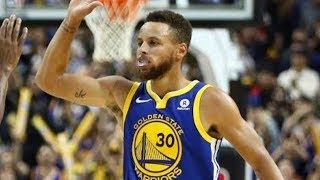 Best stephen curry impossible shots of 2017-18 nba season (incredible 40 point game!)