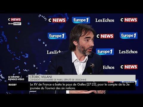 Cédric Villani « La grande épidémie, il faut s'y préparer » dans #LeGrandRDV