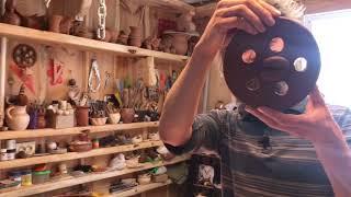 🍯 Как сделать пуговицы и медальоны из остатков глины Волшебство керамики