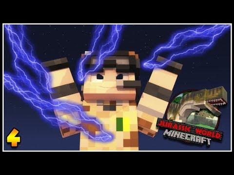 Download Youtube: ELETRICIDADE NO PARQUE! - MINECRAFT JURASSIC WORLD #4
