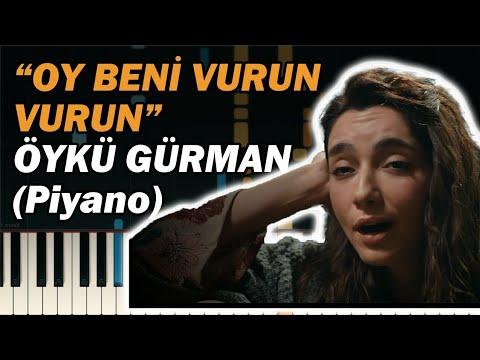 Oy Beni Vurun Vurun KARAOKE | Sen Anlat Karadeniz Piyano ile Nasıl Çalınır? 🎹 (Öykü Gürman)