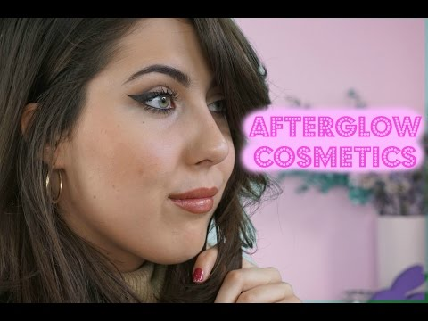 ONE BRAND TUTORIAL: AFTERGLOW COSMETICS (90s Supermodel Look) // The Green Bunny