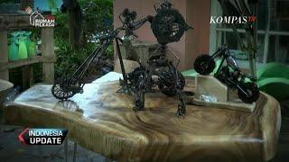 Seni Menyulap Limbah Bengkel ala Montir Lampung
