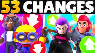 The BIGGEST Balance Update in Brawl Stars 😱