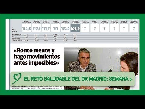 El RETO SALUDABLE del Doctor Madrid: SEMANA #06