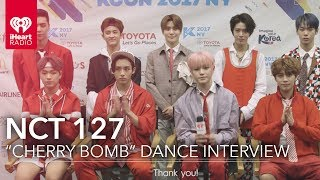 """Video NCT 127 on """"Cherry Bomb"""" Dance and New York City 