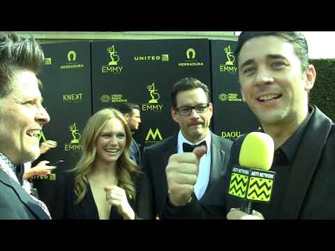 Billy Flynn interviews Marci Miller & Tyler Christopher at 2018 Daytime Emmy Awards Red Carpet