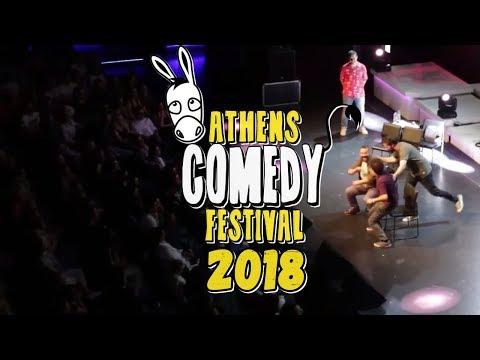 Digital Minds at Athens Comedy Festival 2018!