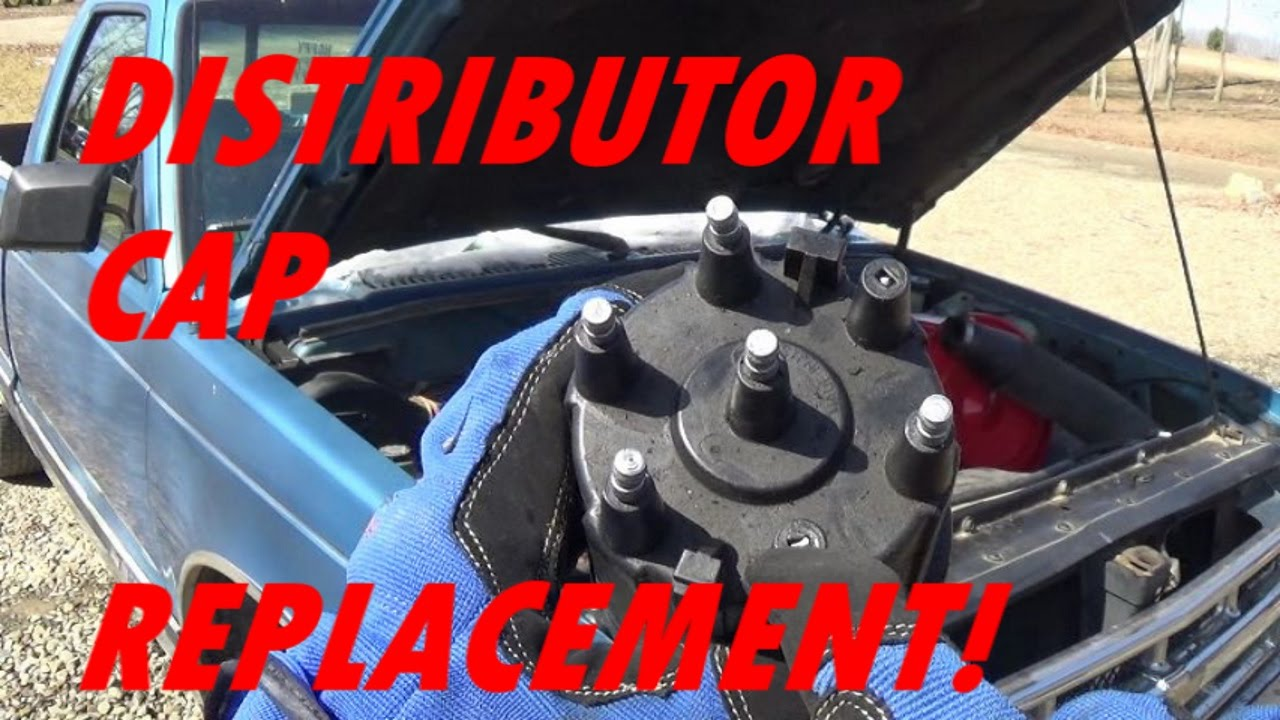 hight resolution of replacing the distributor cap on a 2 8l chevy s10