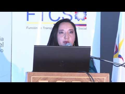Eco. Mónica Herrera - Participación del Sector Energético en el Presupuesto General del Estado