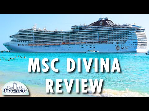 MSC Divina Tour Review MSC Cruises Cruise Ship Tour Review - Msc divina cruise