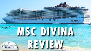 MSC Divina from MSC Cruises is quite a cruise ship. Watch as we tou...