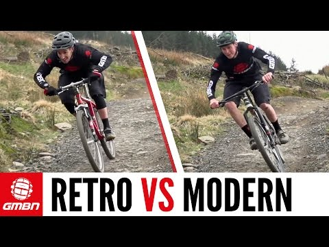 Retro Vs Modern – The Cross Country Mountain Bike Race