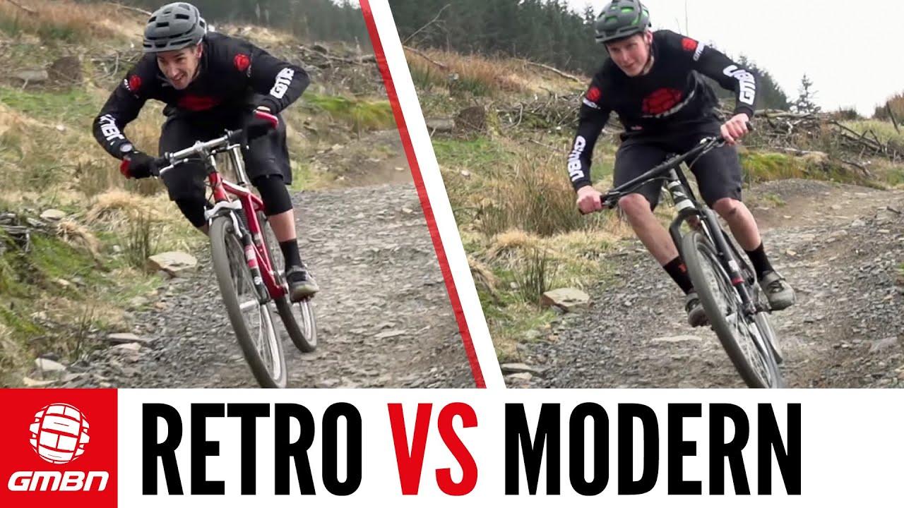 Retro Vs Modern The Cross Country Mountain Bike Race Youtube