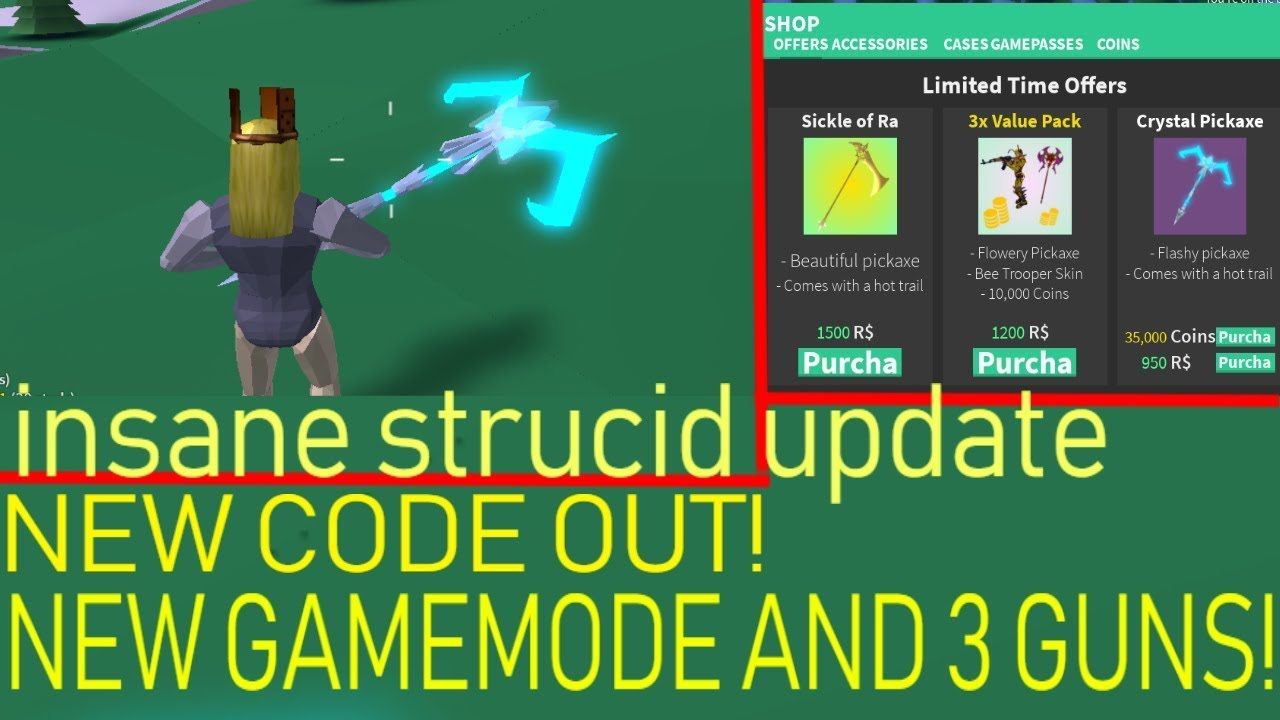 MEGA UPDATE ON STRUCID 🔥NEW GUNS GAMEMODE🔥 AND (EXCLUSIVE ...