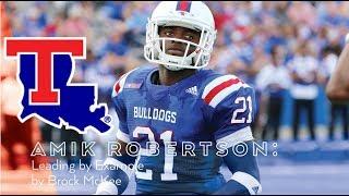 Amik Robertson || Freshman All American || LA Tech Highlights
