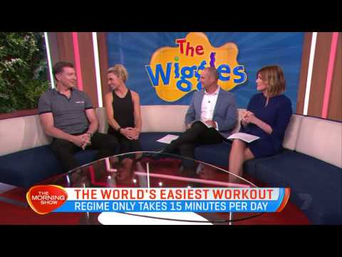 The Red Wiggle & Dorothy The Dinosaur Get Married - The Today Show - 13th July, 2017
