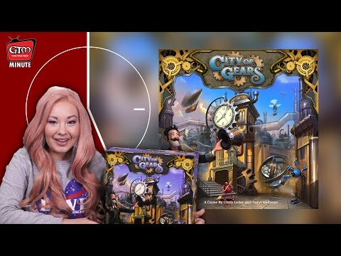 City Of Gears By Grey Fox Games Unboxing