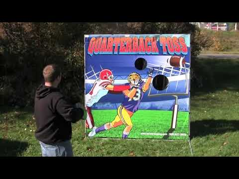 Carnival Game Sales QUARTERBACK TOSS from Twister