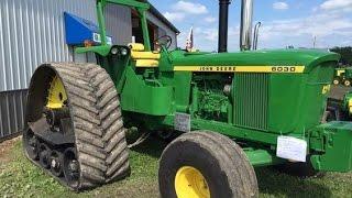 John Deere 6030 Tractor on Tracks