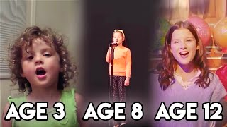 Hayley LeBlanc Singing Through The Years!