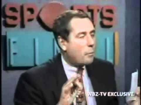 Bob Lobel WBZ-TV Boston interview With Ted Williams, Bobby Orr and Larry Bird  (1992)