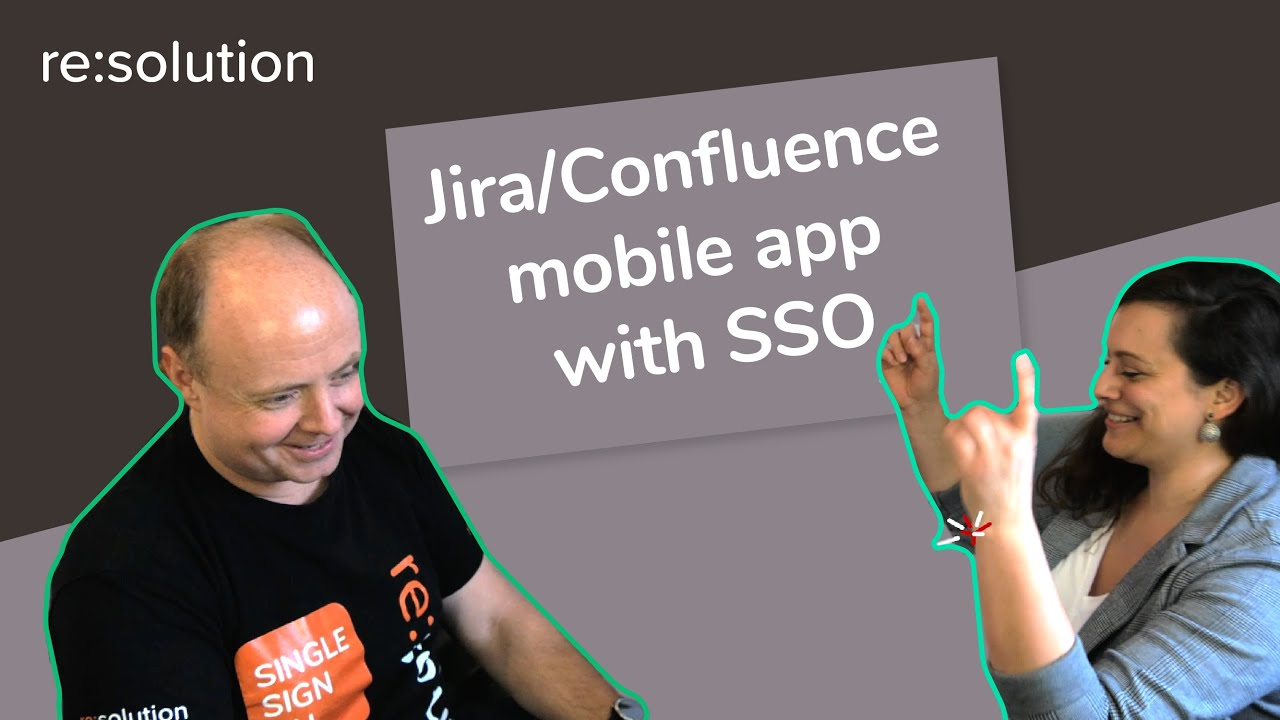 How can I use the Jira or Confluence mobile app with Single Sign On?