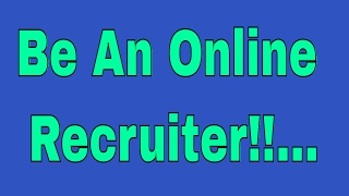Work From Home As An Online Recruiter!!...