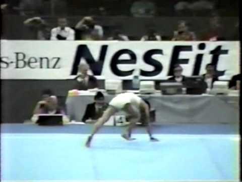 1989 World Championships WAG EF