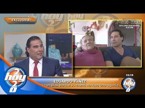Eduardo Yáñez tuvo la oportunidad de despedirse de su mamá | Hoy
