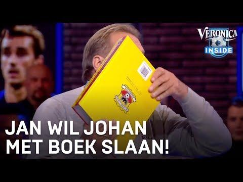 Jan wil Johan slaan met een boek | VERONICA INSIDE
