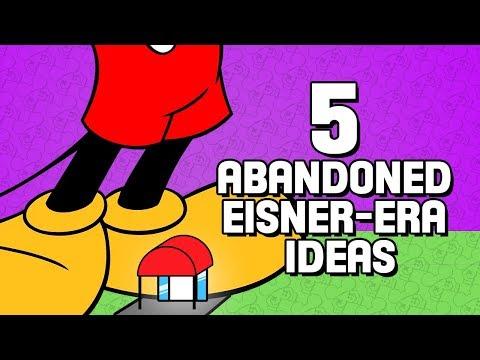 5 Failed & Abandoned Eisner-Era Disney Ideas