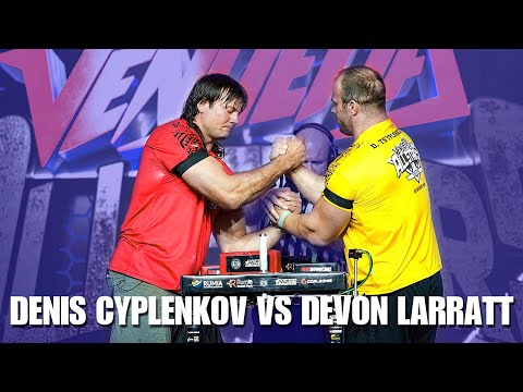 Devon Larratt VS Denis Cyplenkov ARM WRESTLING VENDETTA ARMFIGHT