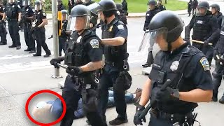 Cops Suspended After 75-Year-Old Man Is Pushed to the Ground