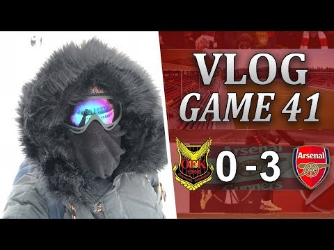 ÖSTERSUNDS FK 0 V 3 ARSENAL - VERY PROFESSIONAL PERFORMANCE - MATCHDAY VLOG