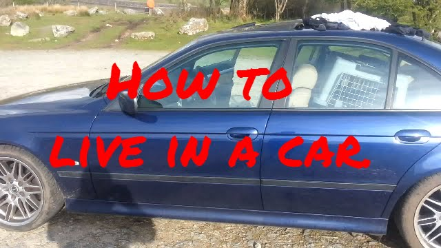 How To Live In A Car When Homeless.