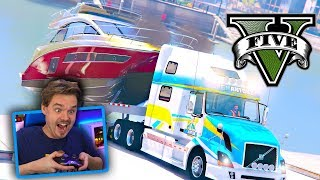 GTA 5 REPO MOD Repossession of a Power Boat! (GTA 5 MODS - Real Life Mod Gameplay)