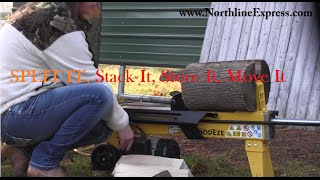 Split It, Stack It, Store It And Move It Series - Part 1 - Splitting Your Firewood