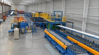 zhongji pu panel production line