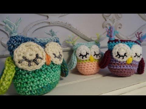 How To Crochet A Little OWL